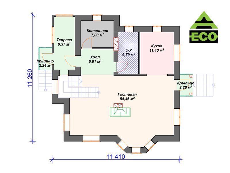 К001 1-этаж с лого