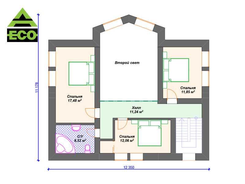 К057 2 этаж с лого