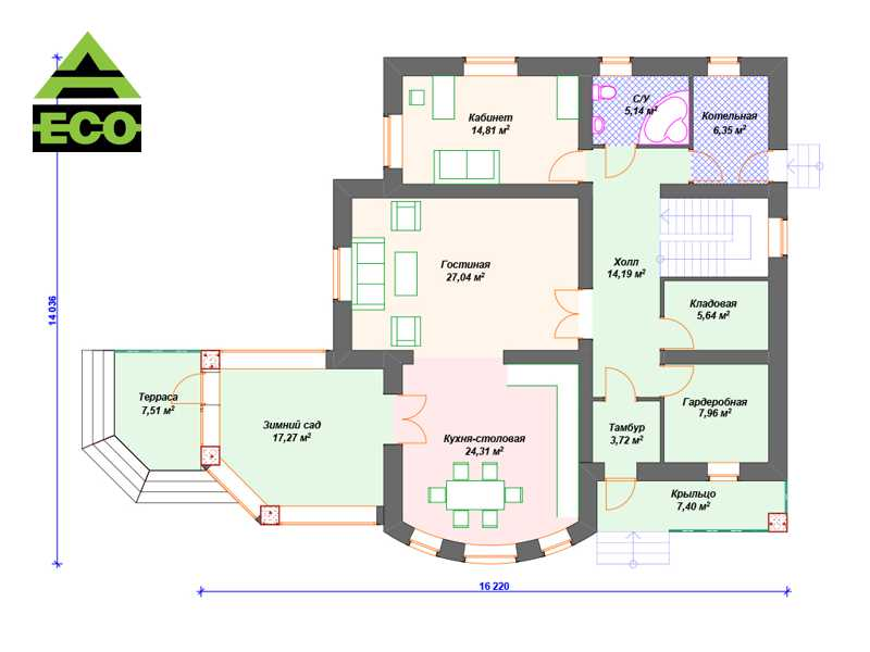 К105 1 этаж с лого