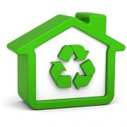 Green-Home-with-Recycling-Logo-Inside